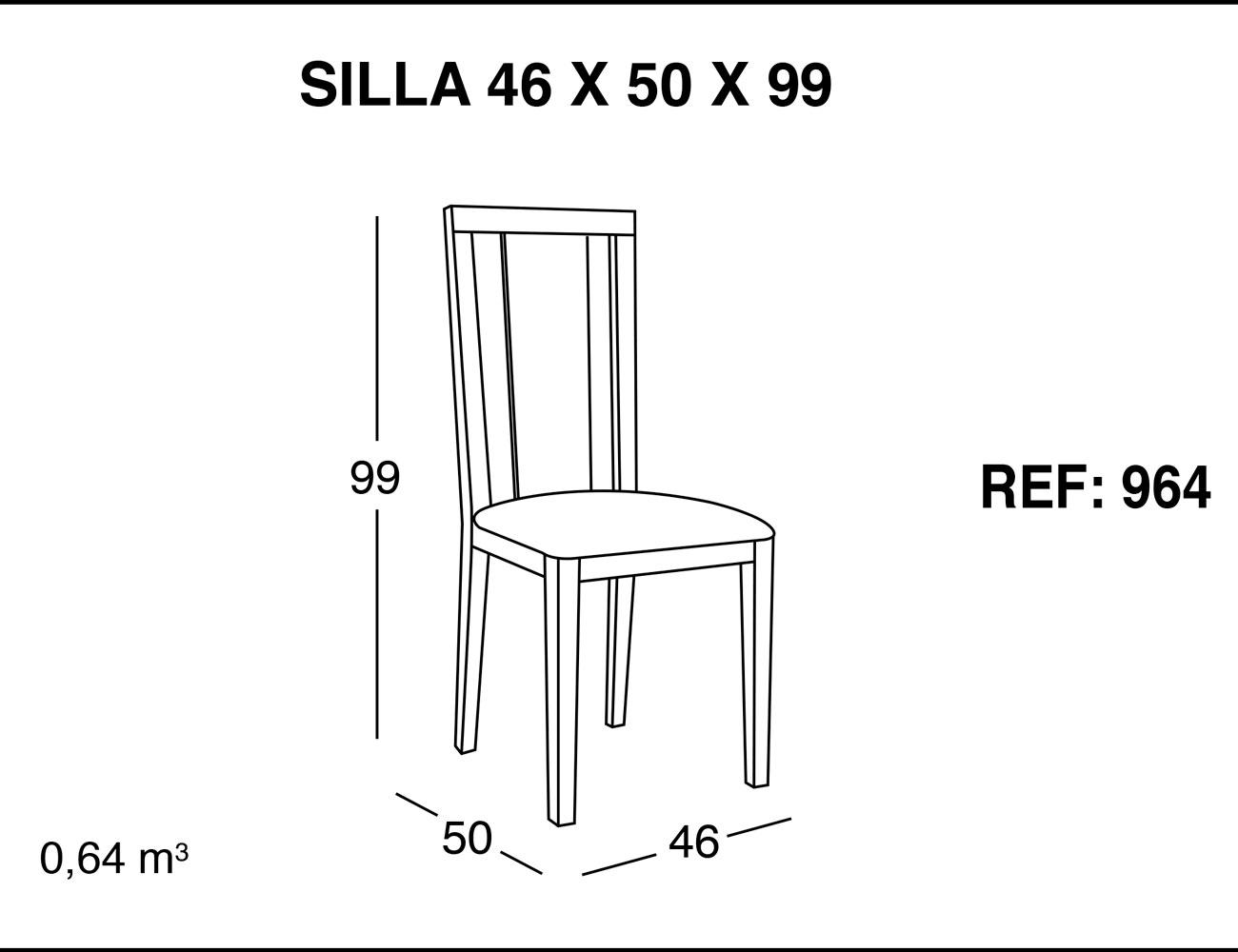 Silla 46 50 99