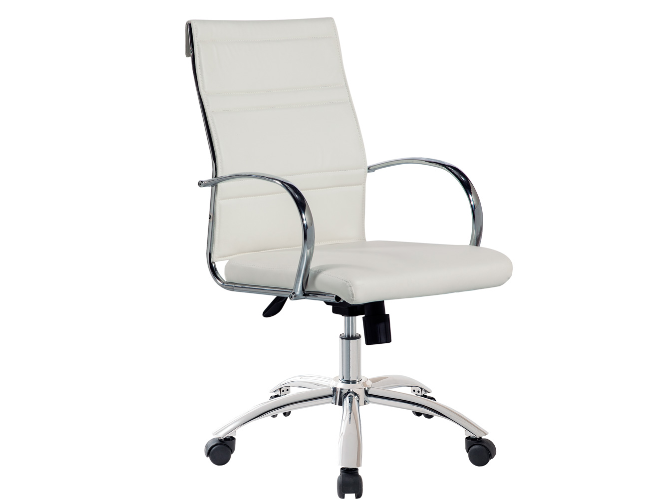 Silla escritorio blanca good silla de escritorio pc gamer for Ruedas para sillas de oficina