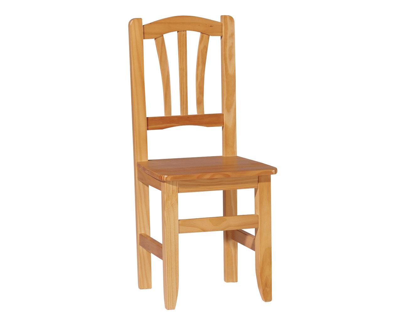 Pack de sillas de madera en color miel (8148) | Factory del Mueble ...