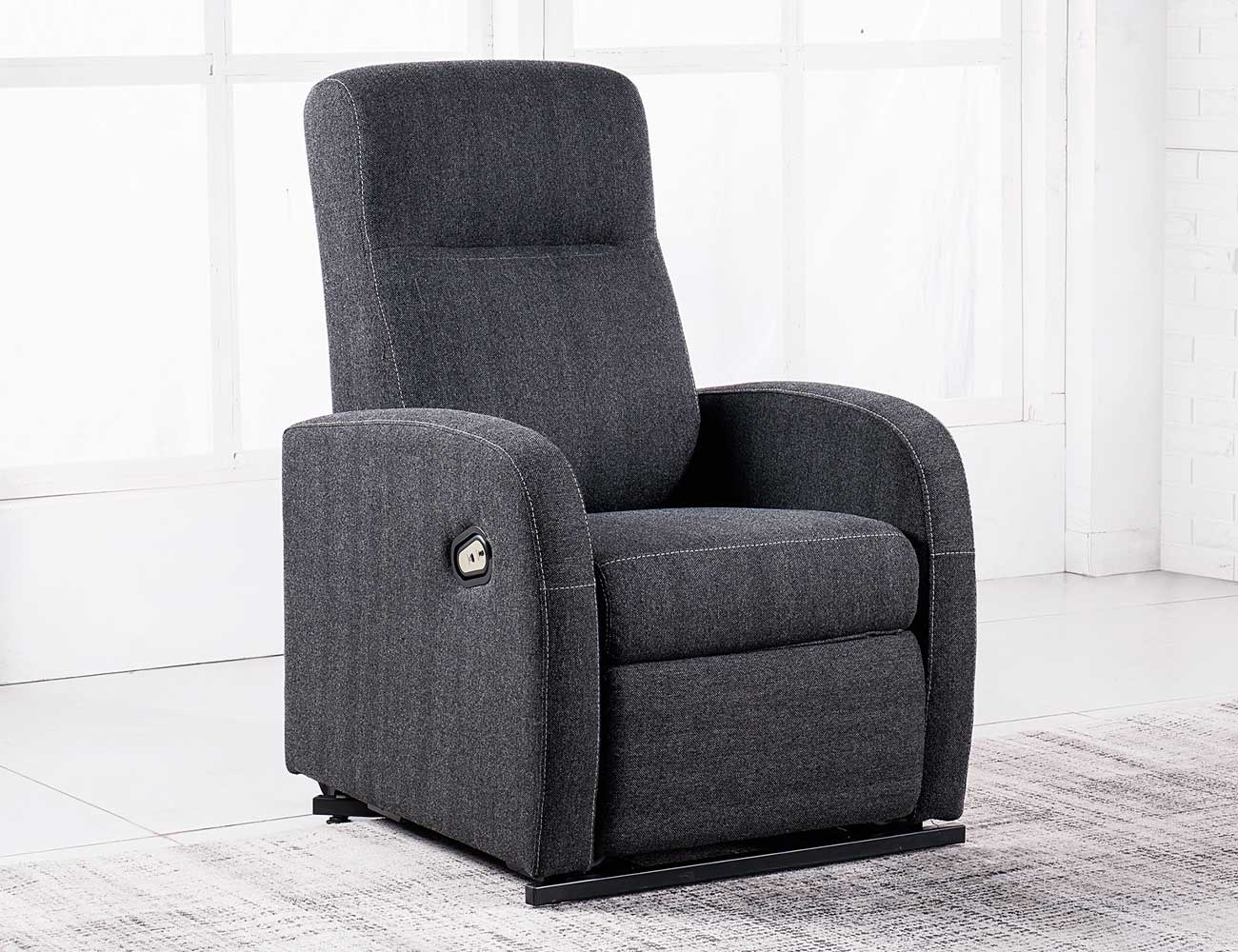 Sillon relax levanta personas power lift gris marengo