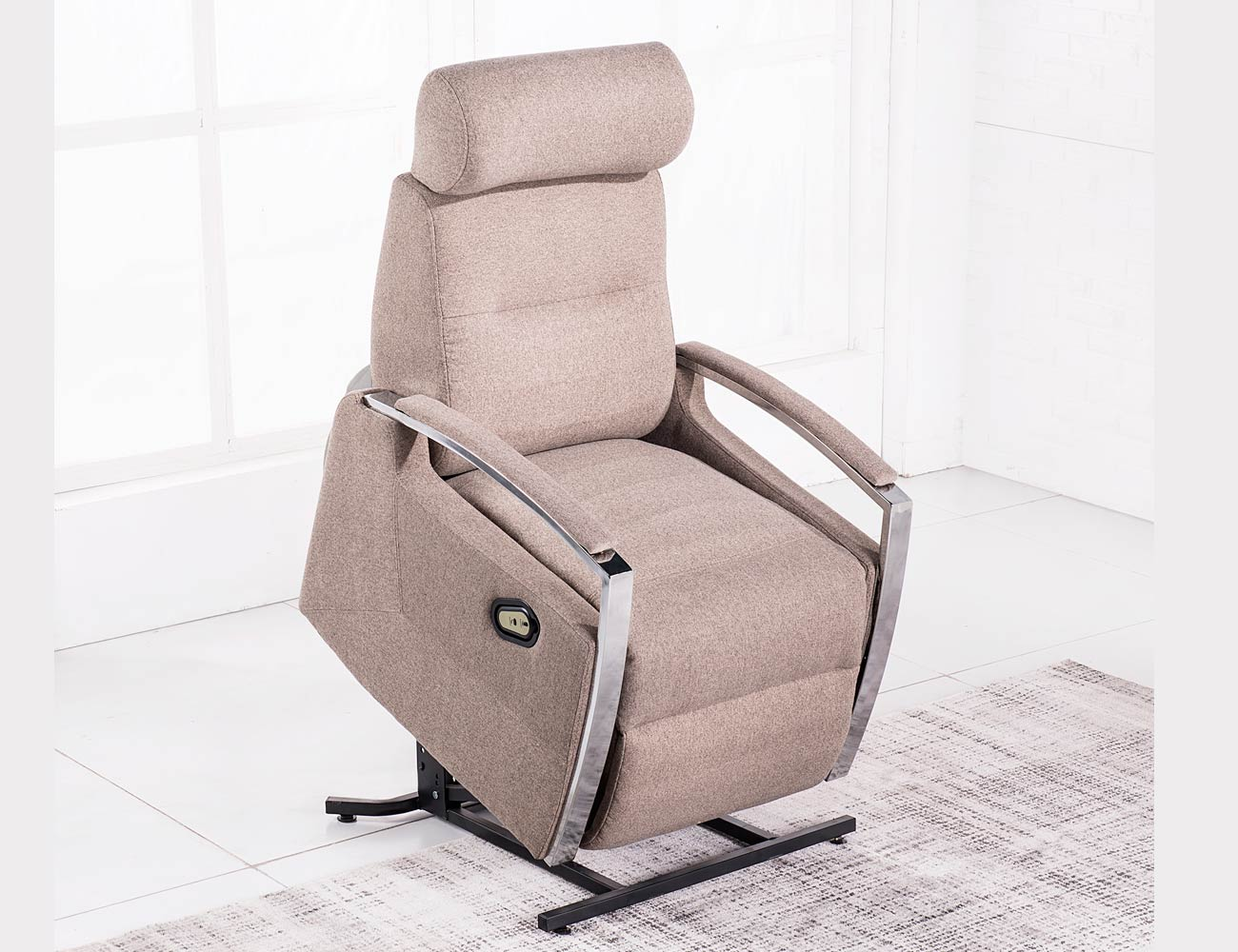 Sillon relax levanta personas power lift masaje calor moka