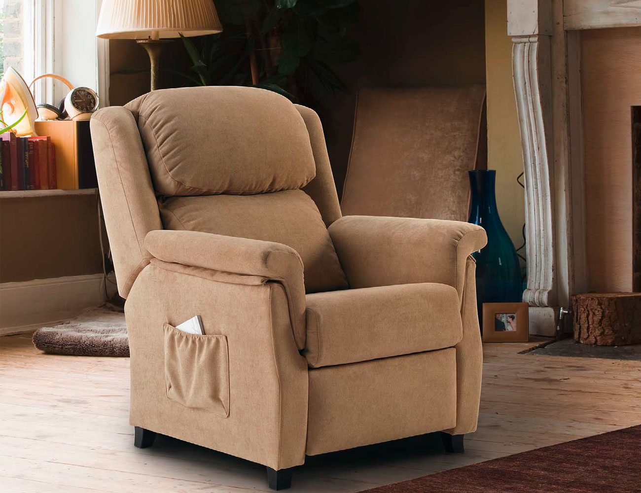 Sillon relax manual bianca 118