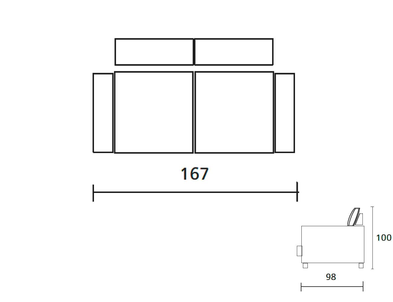 Sofa 1673