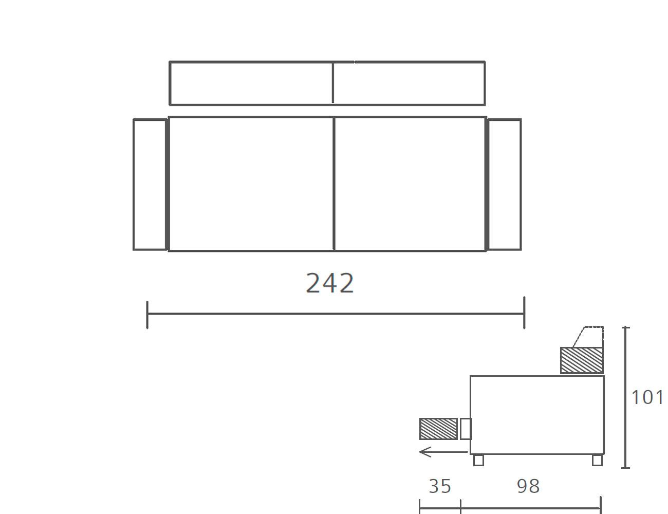 Sofa 2423
