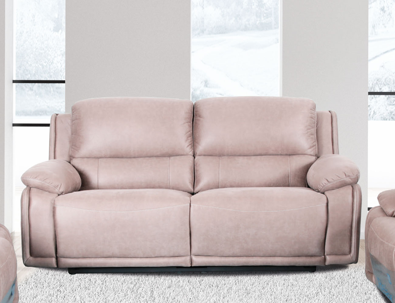 Sofa 3 plazas 2 asientos relax arena