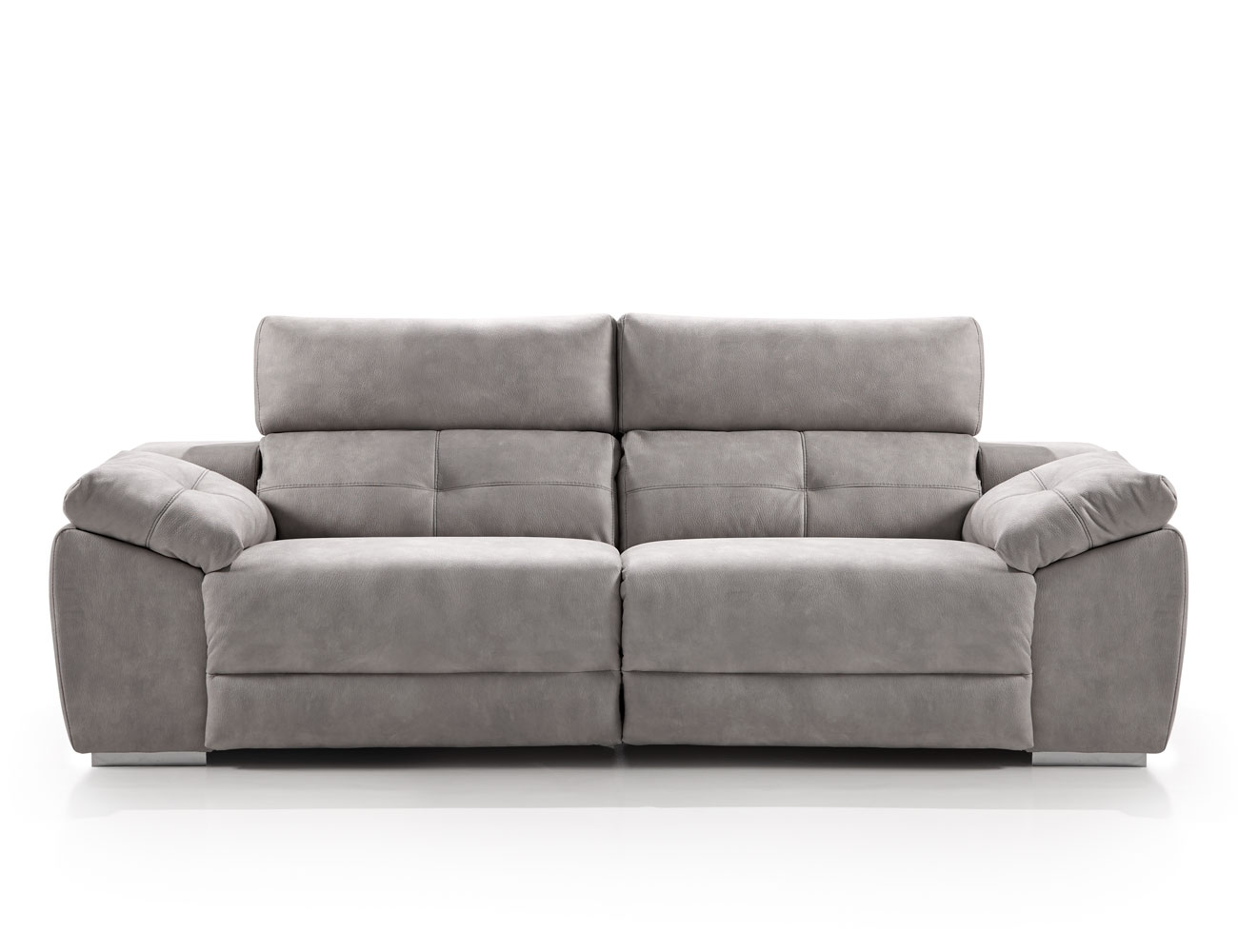 Sofa 3 plazas acomodel relax motor