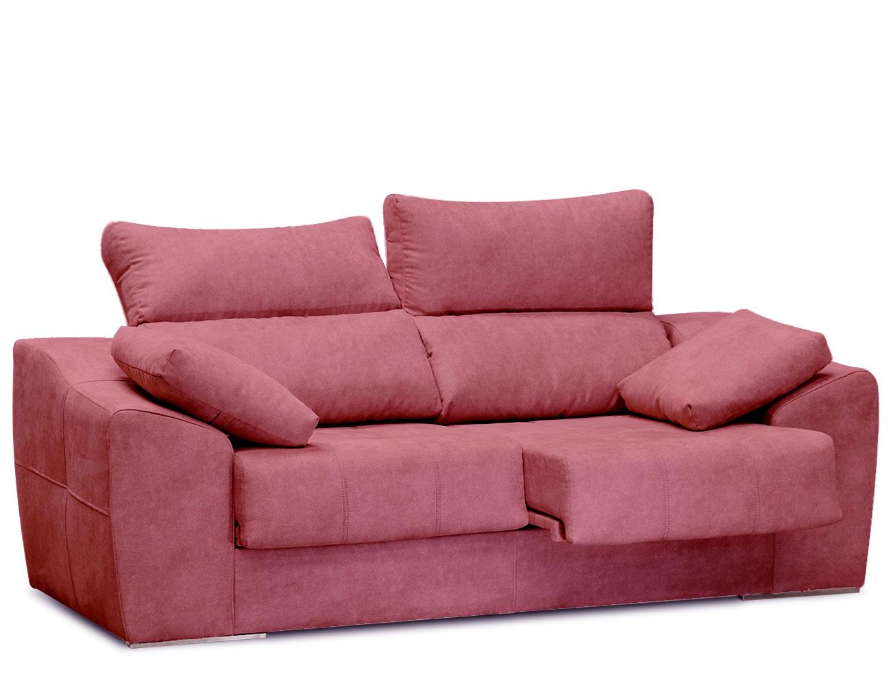 Sofa 3 plazas asientos delizantes calidad allegra10 51