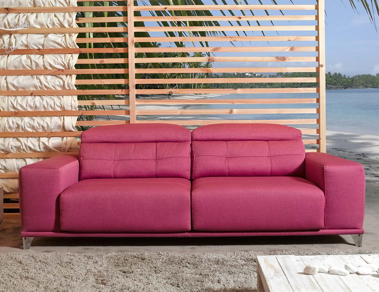 Sofa 3 plazas deslizante alta gama