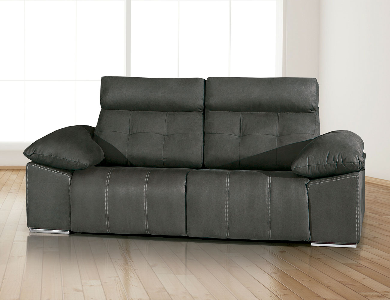 Sofa 3 plazas electrico tejido dante3