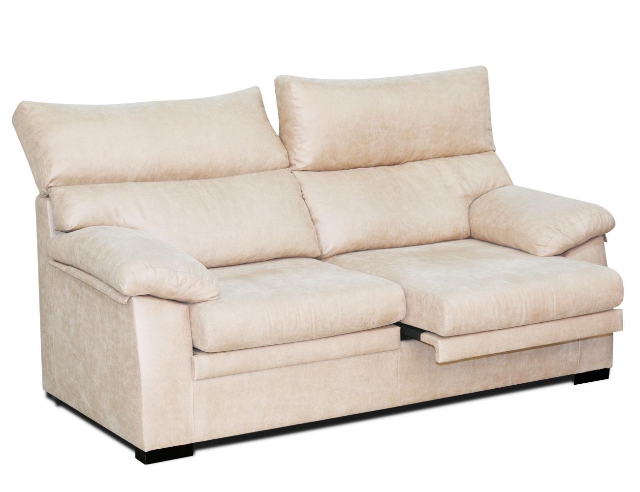Sofa 3 plazas extraible surf blanco 1