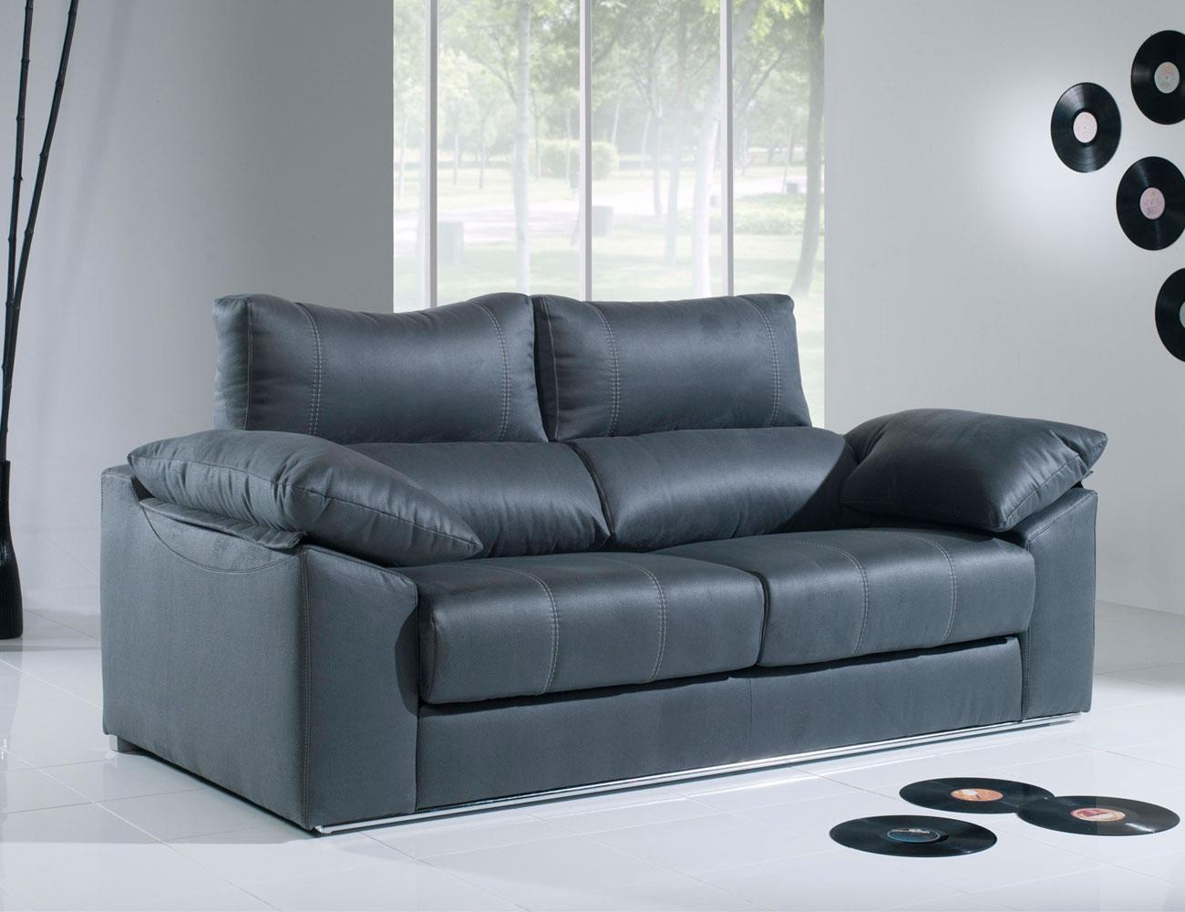 Sofa 3 plazas moderno con barra