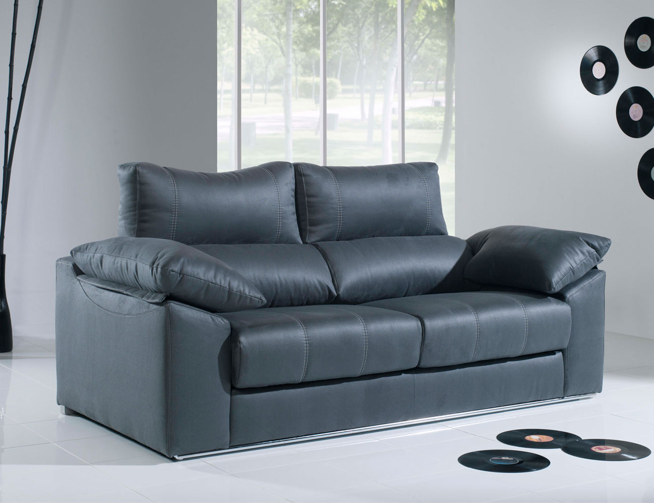 Sofa 3 plazas moderno con barra39