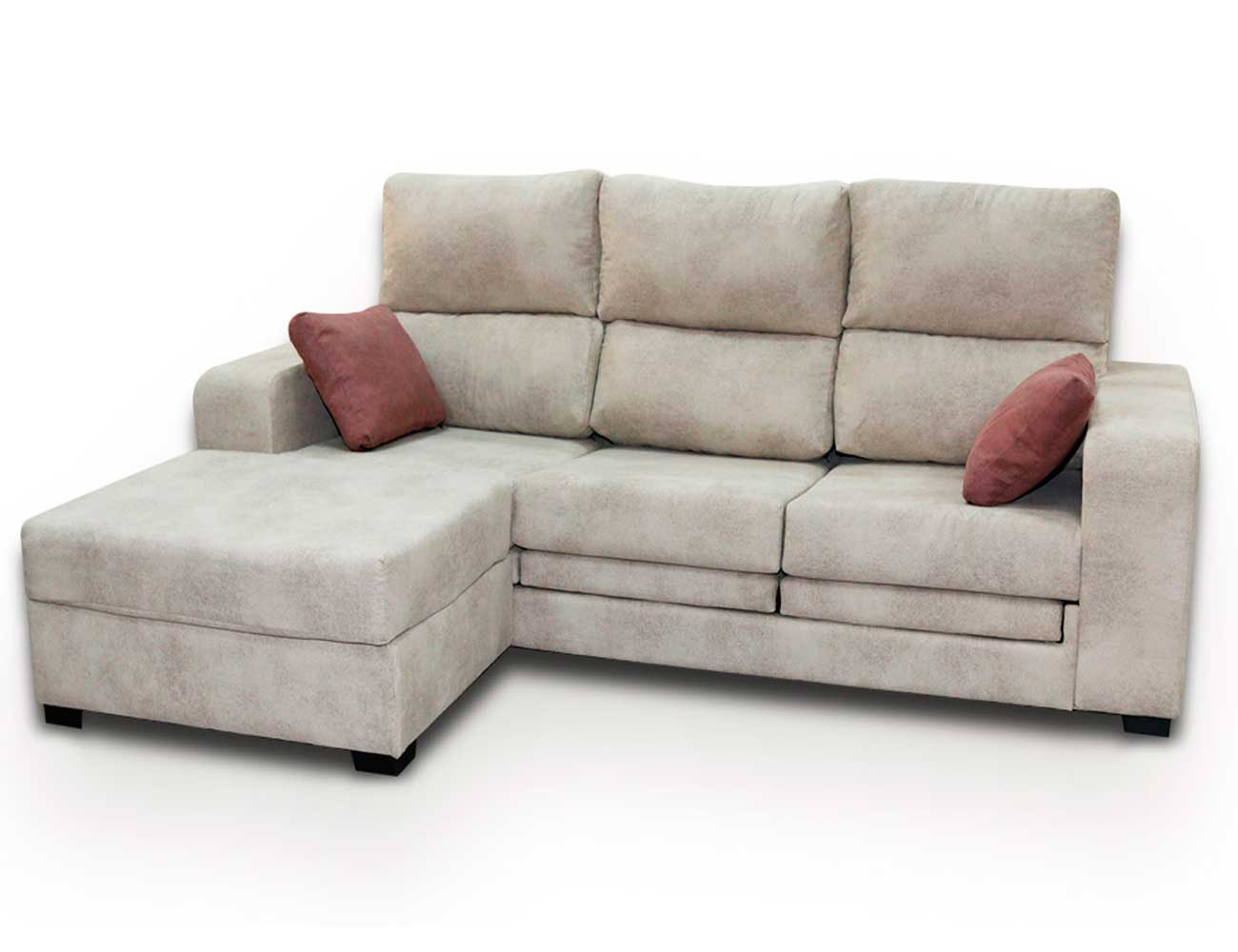 Sofa 3p puff reversible
