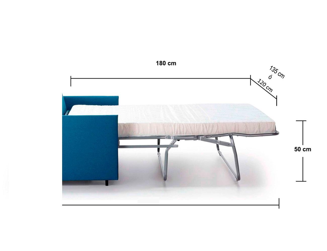 Sofa cama 120 135 cm2
