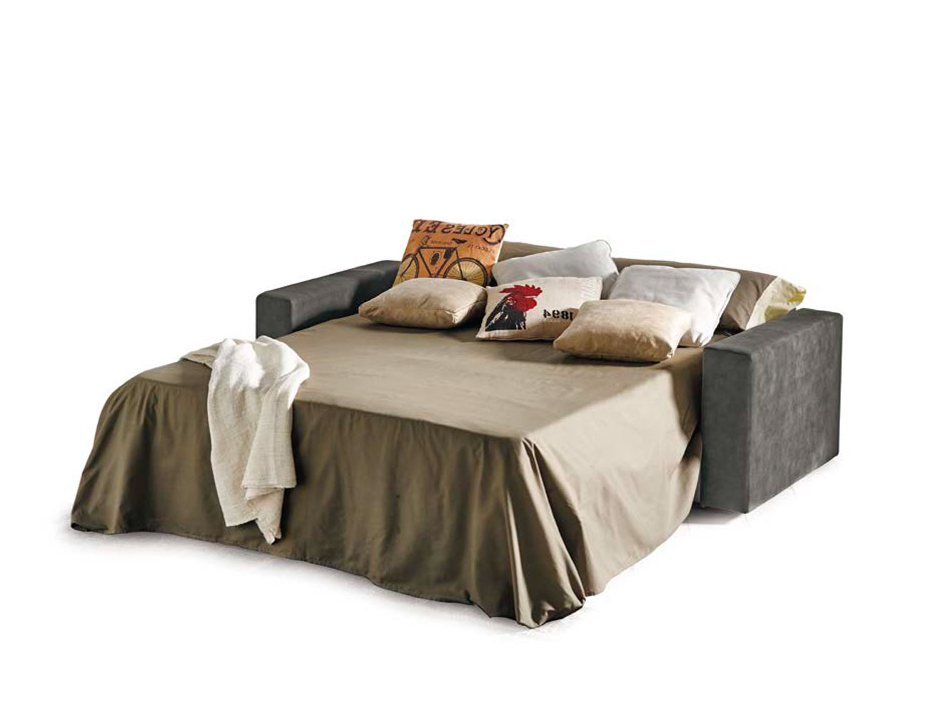 Sofa cama apertura italiano gran calidad nuria 233