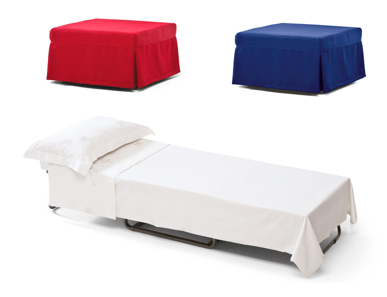 Sofa cama convertible puf