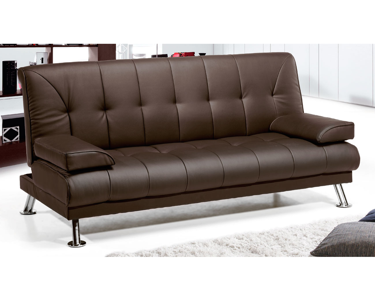 sof cama tipo libro con respaldo alto 7271 factory