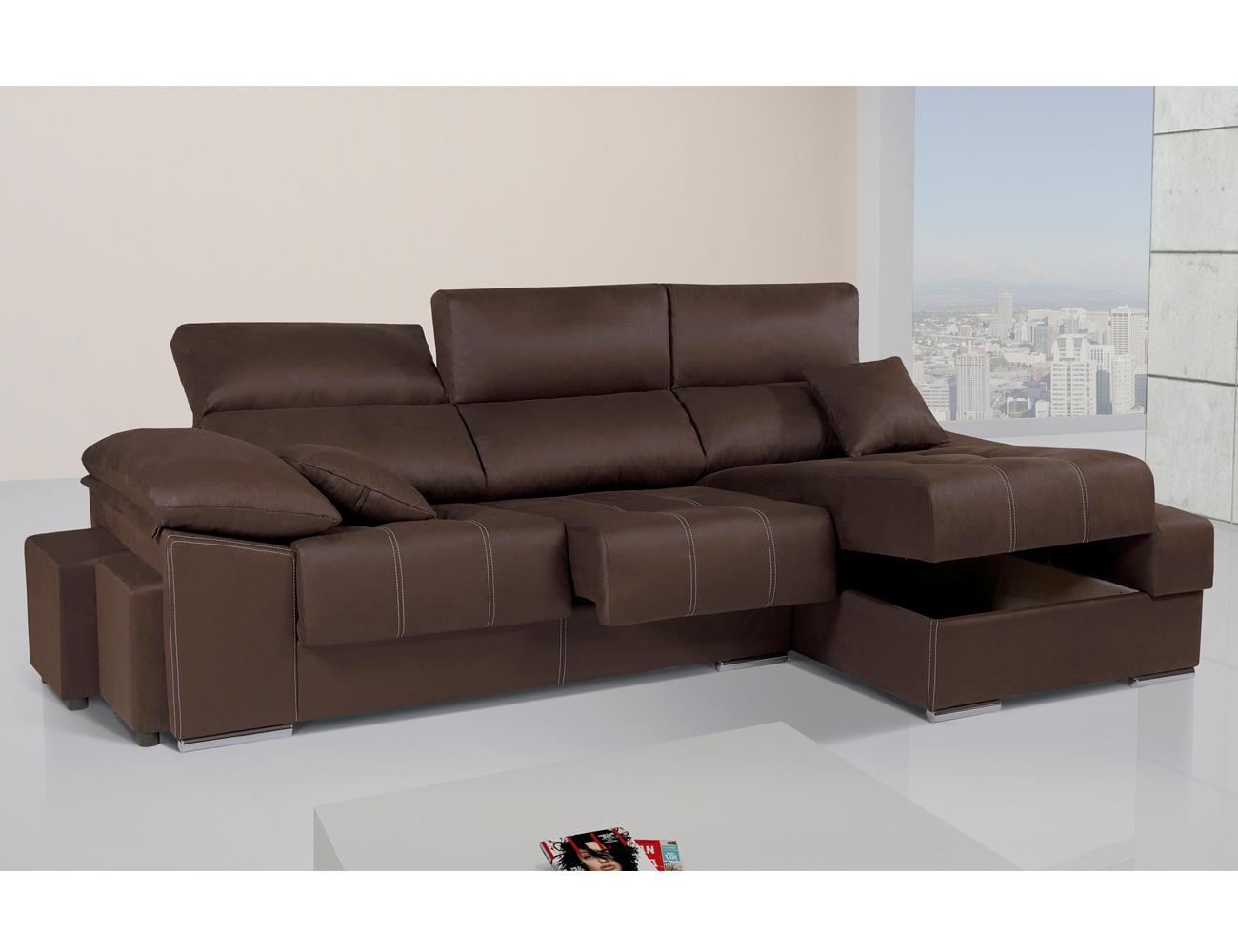 Sof con asientos extra bles y respaldos reclinable con - Tejidos para sofas ...