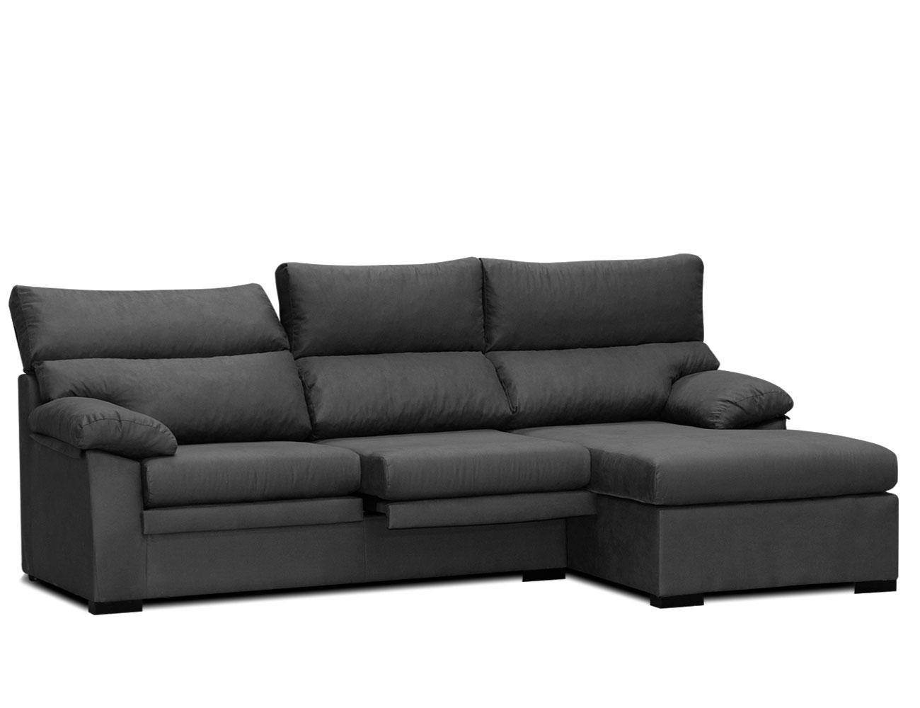Sof chaiselongue con asientos extraibles y respaldos - Factory del sofa sevilla ...