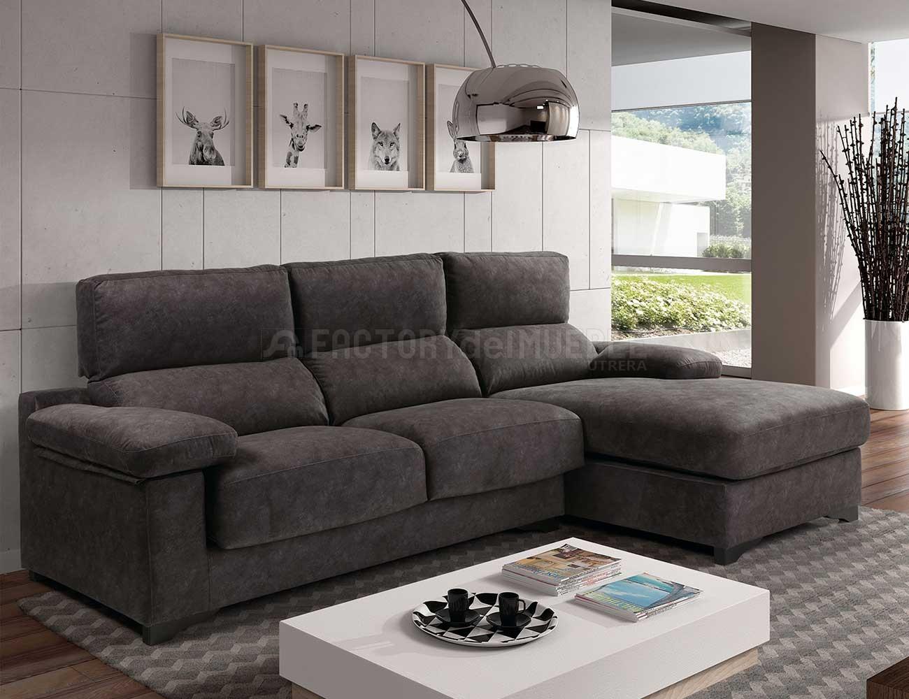 Sof Chaiselongue Oliver De Gran Calidad 22363 Factory Del  # Muebles Tasa Cero