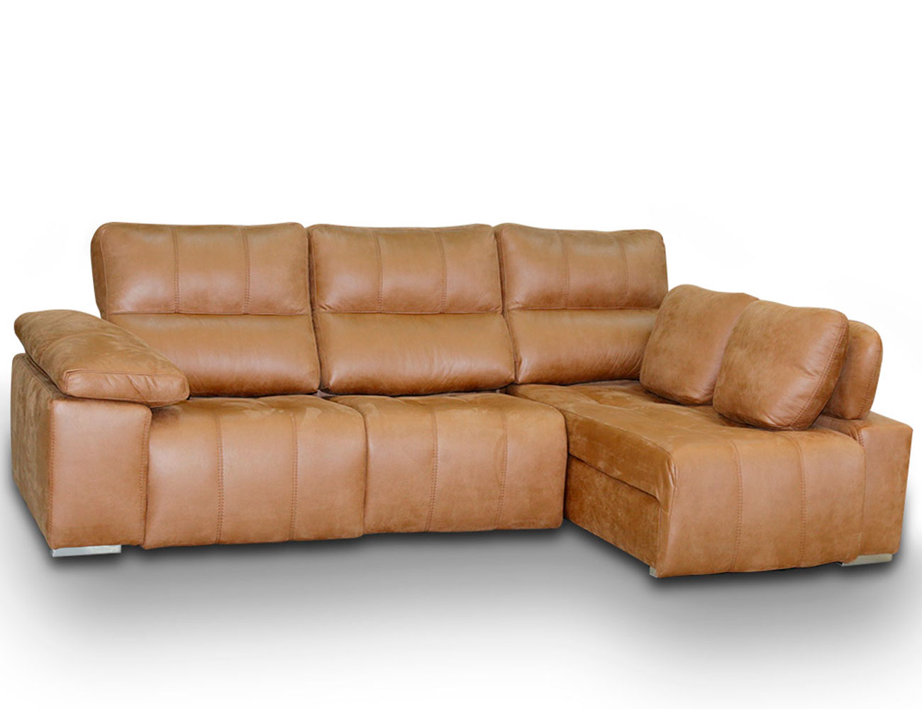 Sofa chaiselongue relax 2 motores anti manchas553