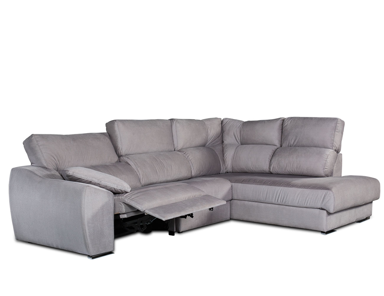 Sofa chaiselongue rincon electrico 210