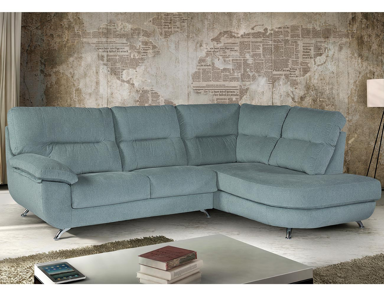 Sofa chaiselongue rincon moderno