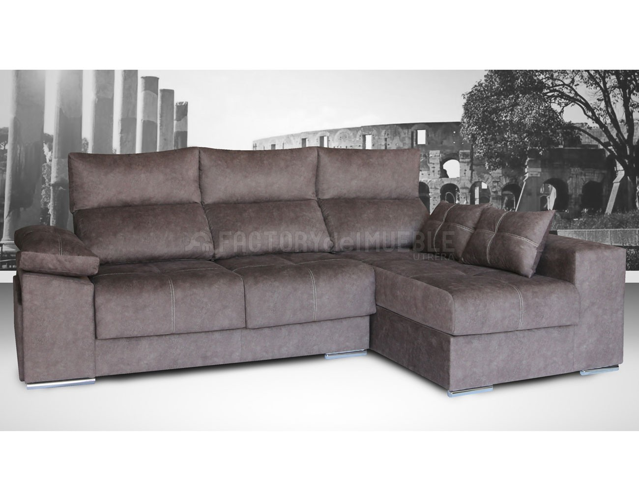 Sofa chaiselongue roma