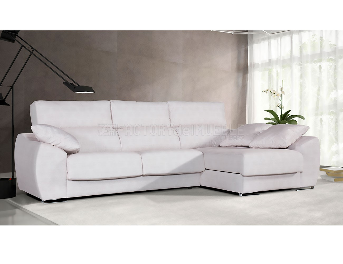 Sofa chaiselongue tosca