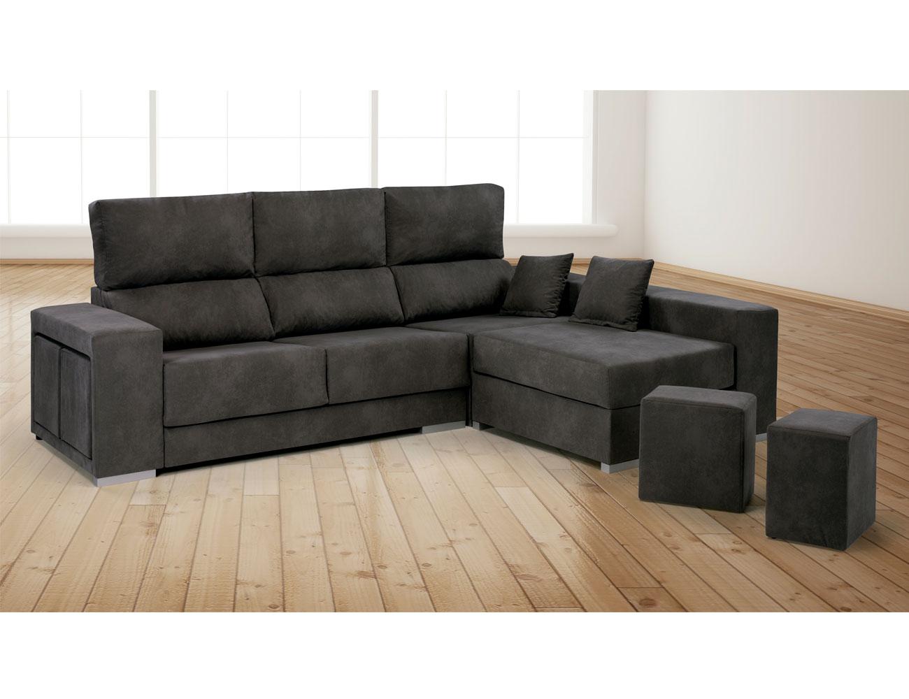 Puff mueble mesa de centro blanca puff completa for Combinar sofa gris marengo