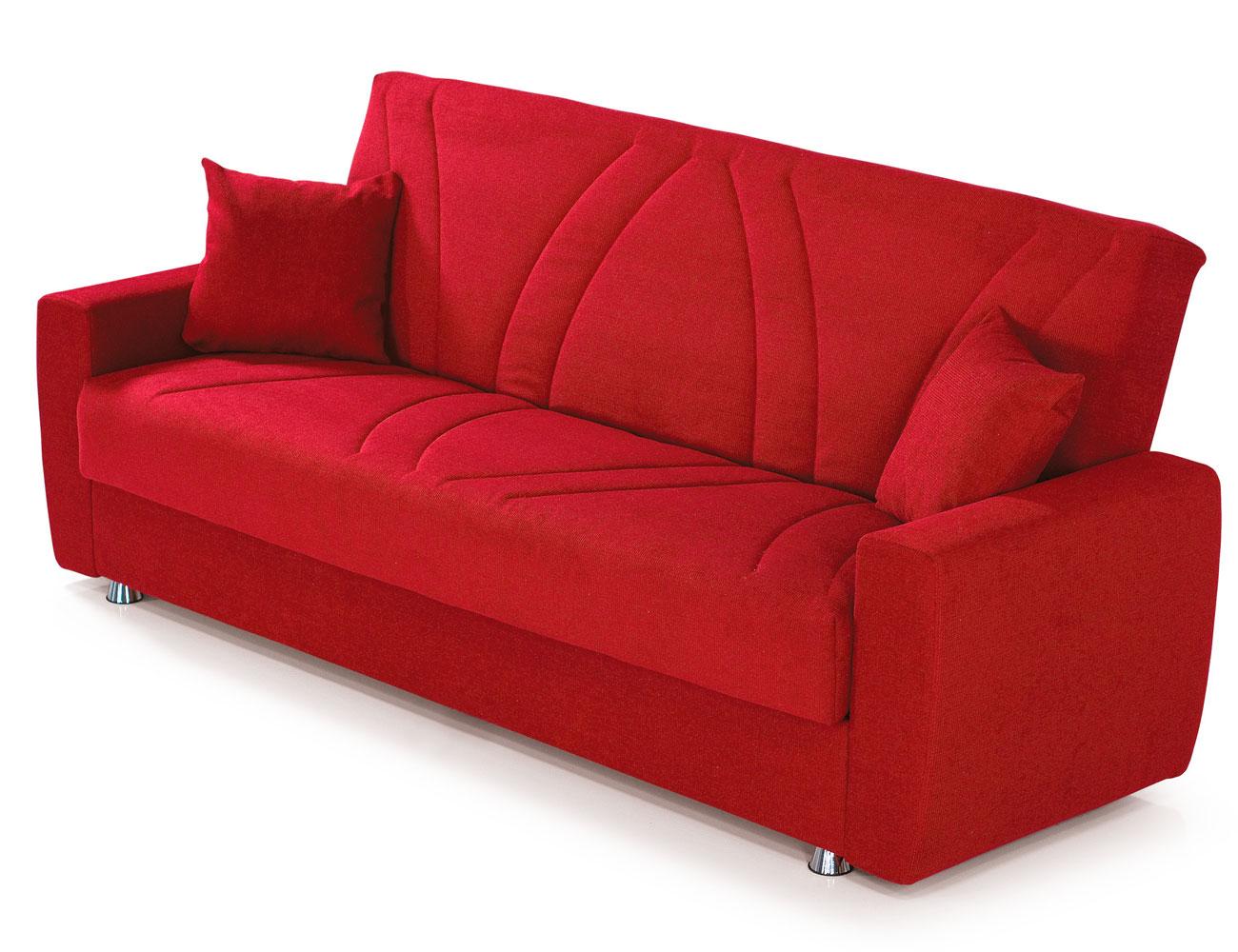 Sofa clic clac rojo arcon