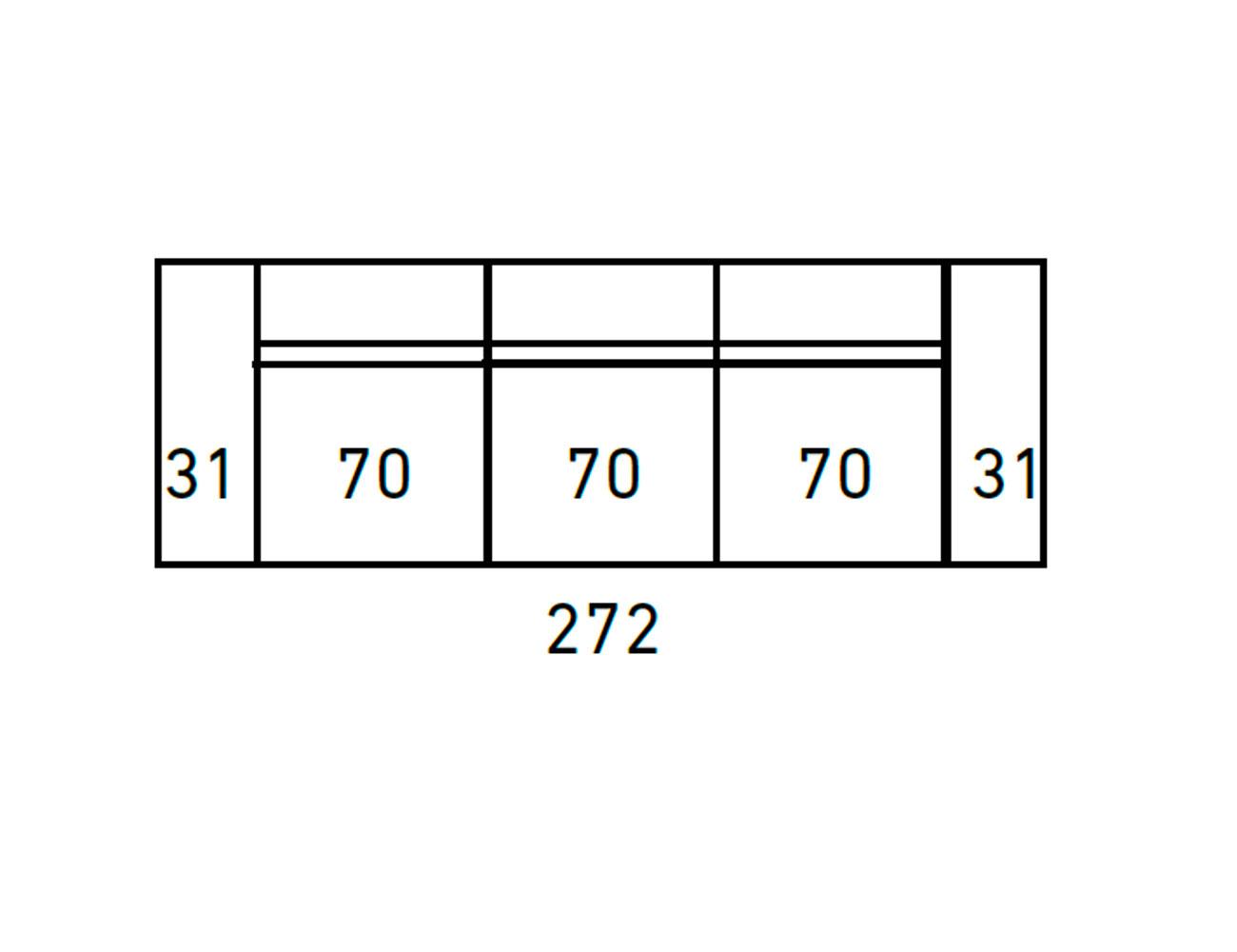 Sofa moderno 3 2 plazas anti manchas 33