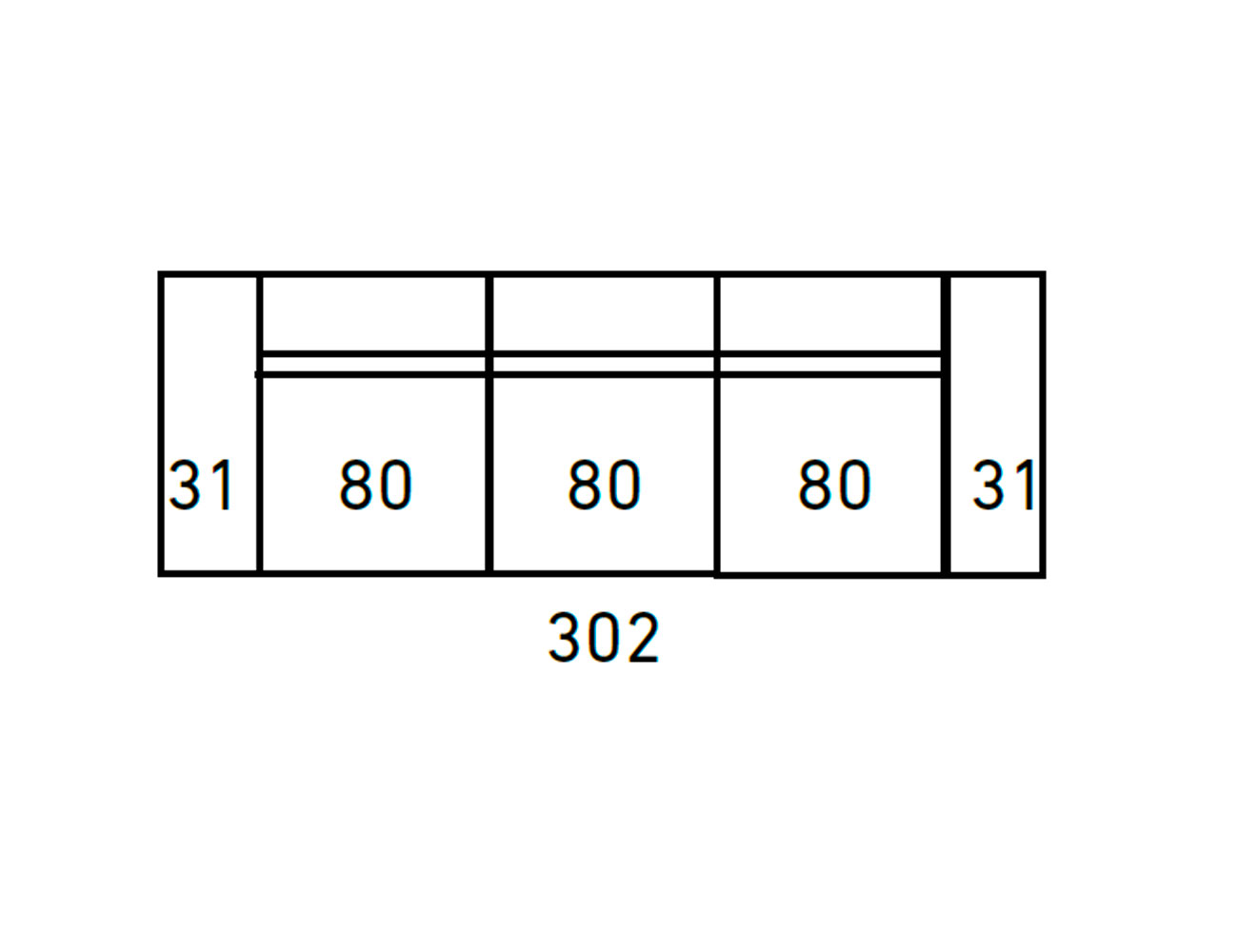 Sofa moderno 3 2 plazas anti manchas 41