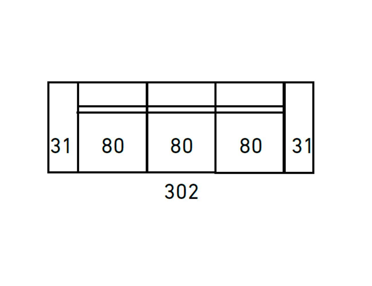 Sofa moderno 3 2 plazas anti manchas 415