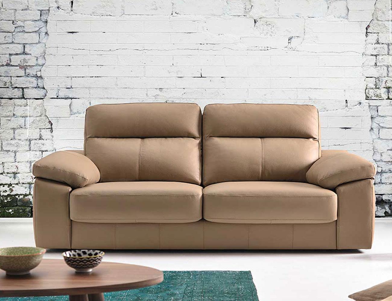 Sofa pedro ortiz piel 3 plazas