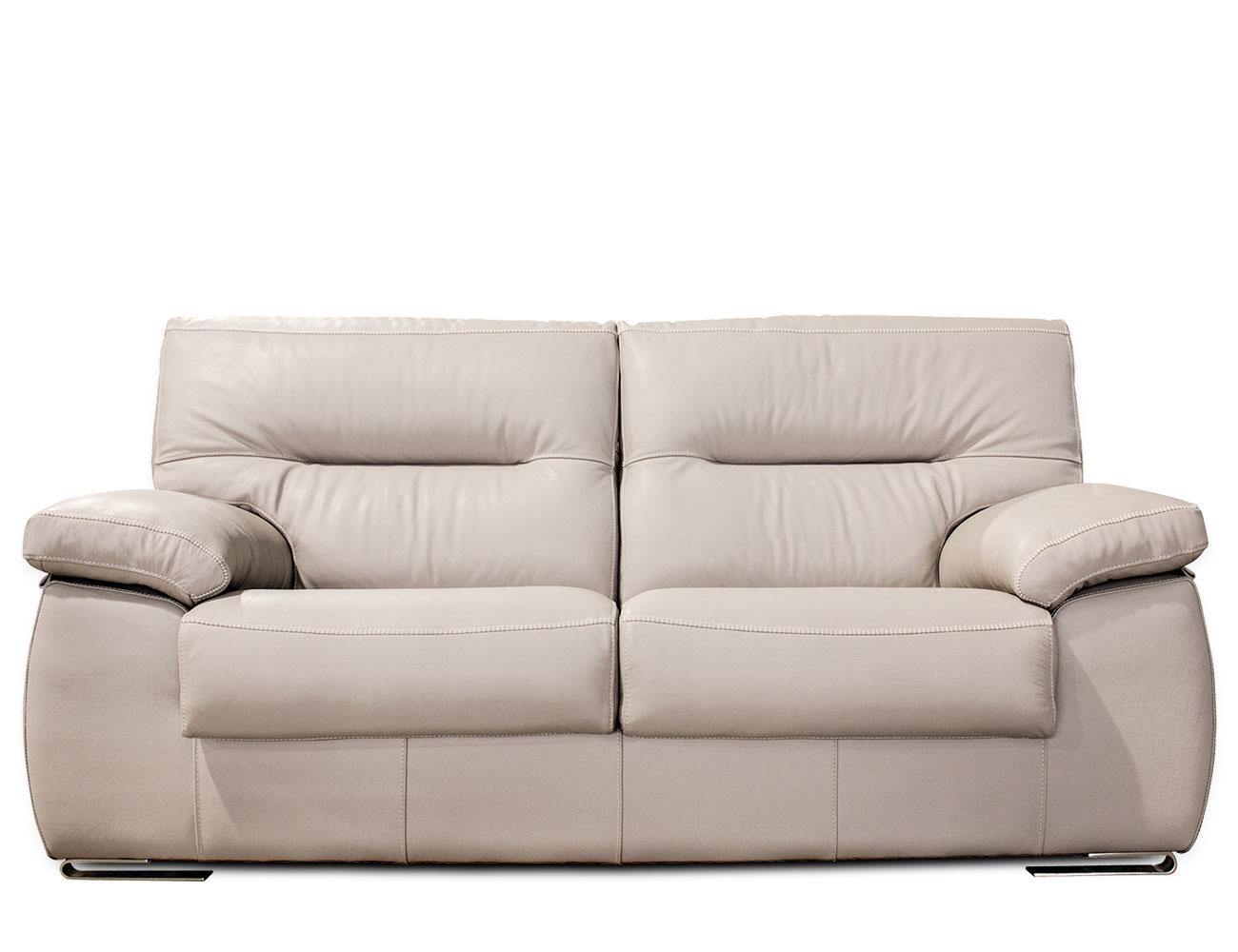 Sofa piel alta calidad beig beige marron chocolate