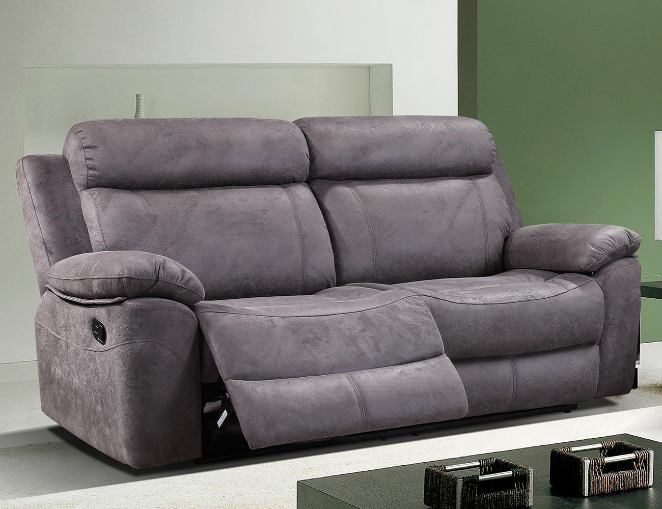 Sof 3 plazas relax el ctrico de alto confort en dante - Sofas de 2 y 3 plazas ...