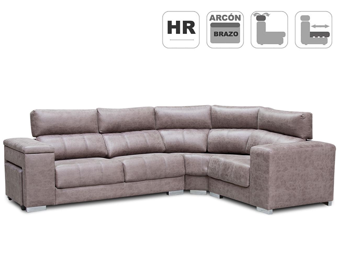 Sofa rinconeras l anti manchas detalle