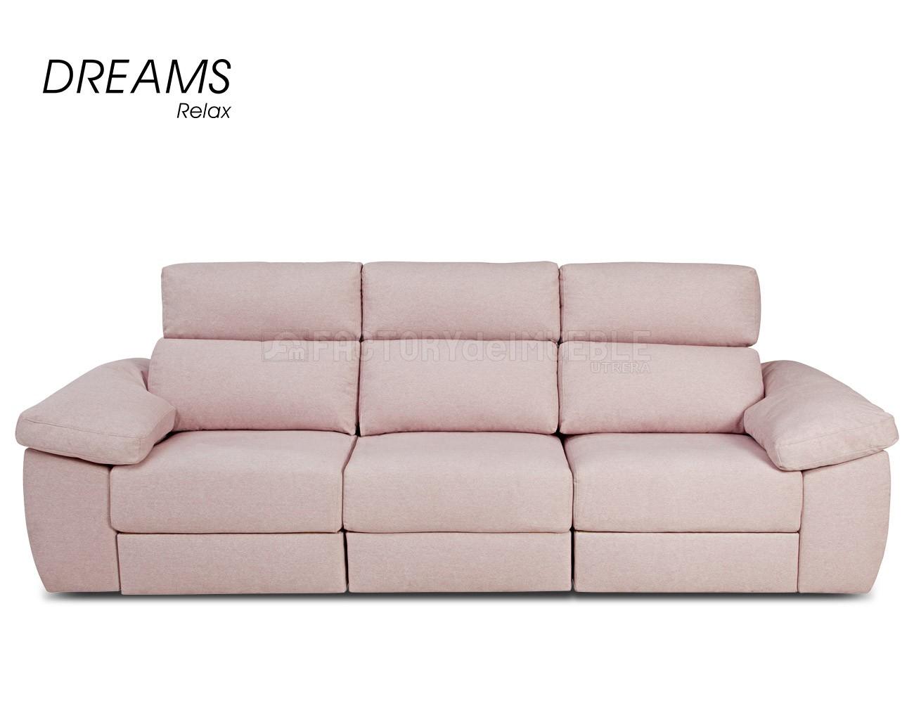 Sofa rosa chaiselongue