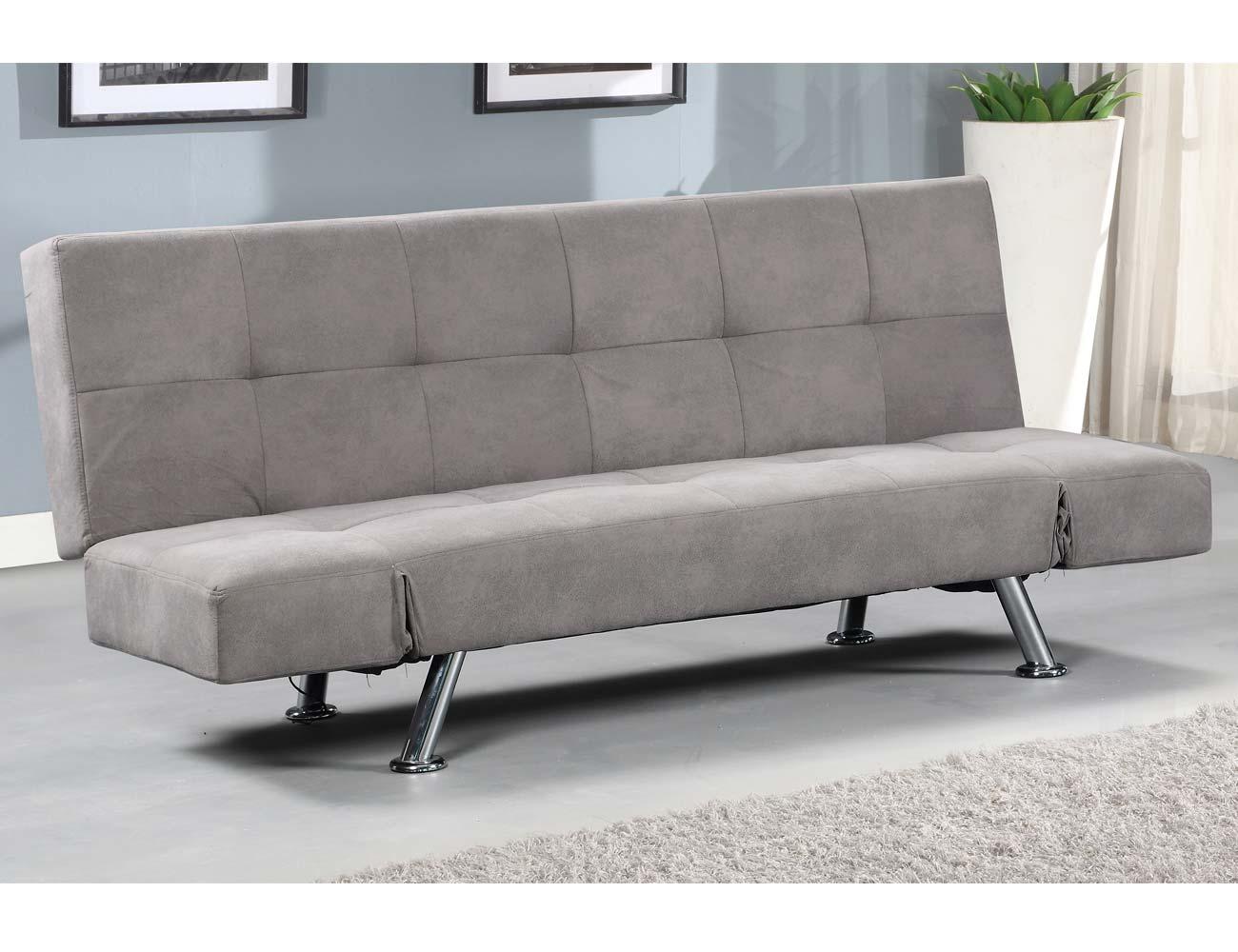 Sofa tapizado gris marengo clic clac bici