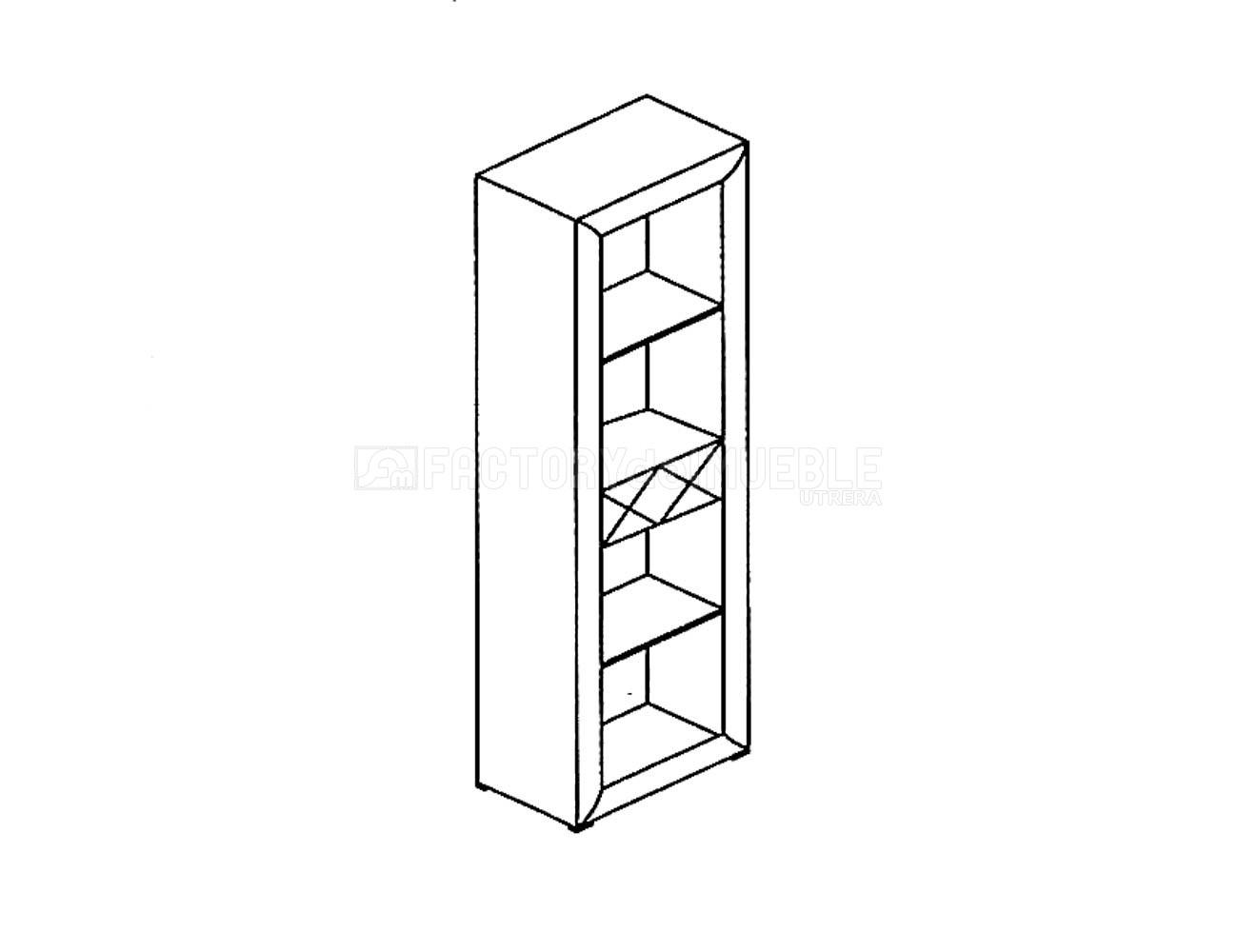 Torre estanteria 60 04m1051
