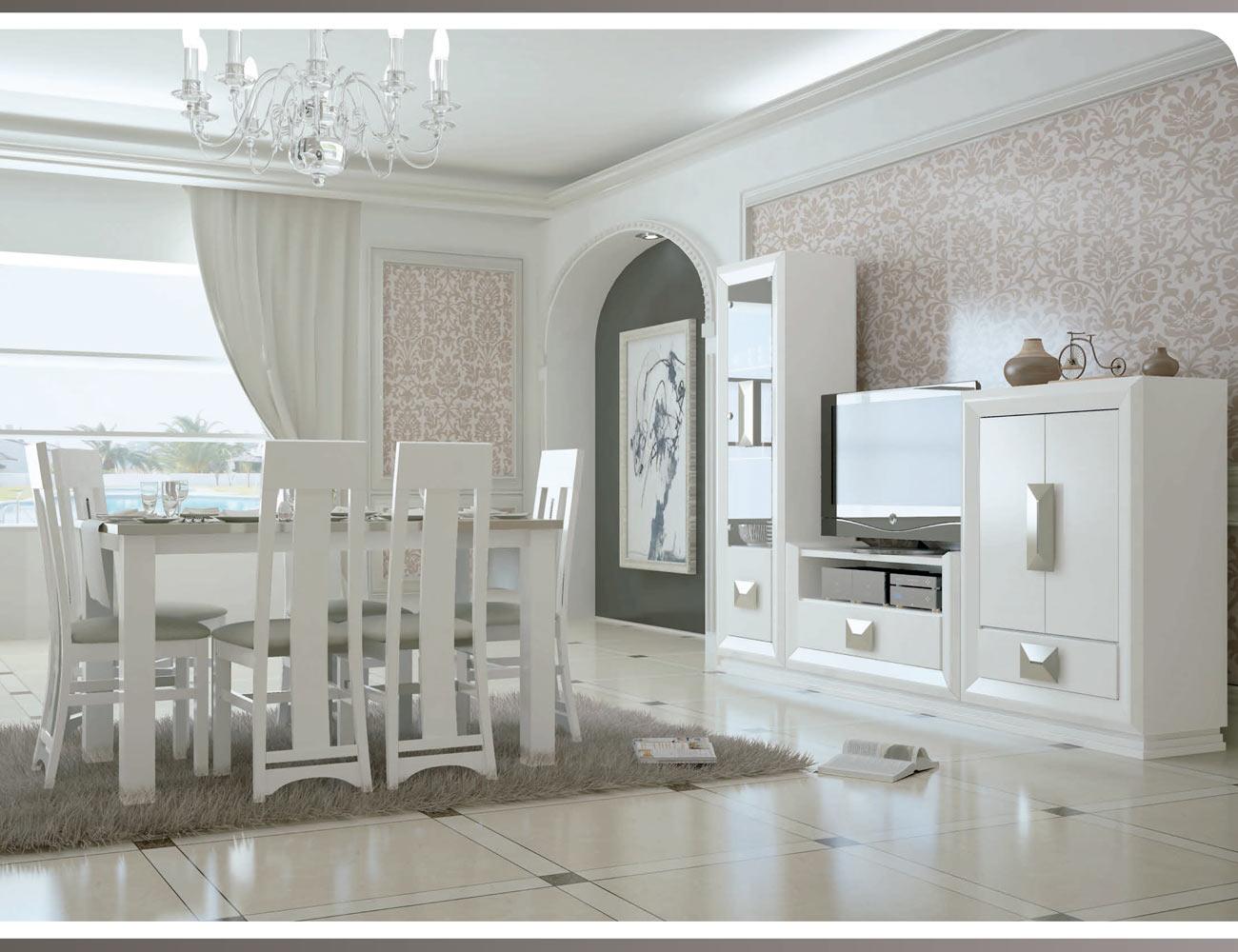 Touring 1 mueble salon comedor neoclasico color 5041