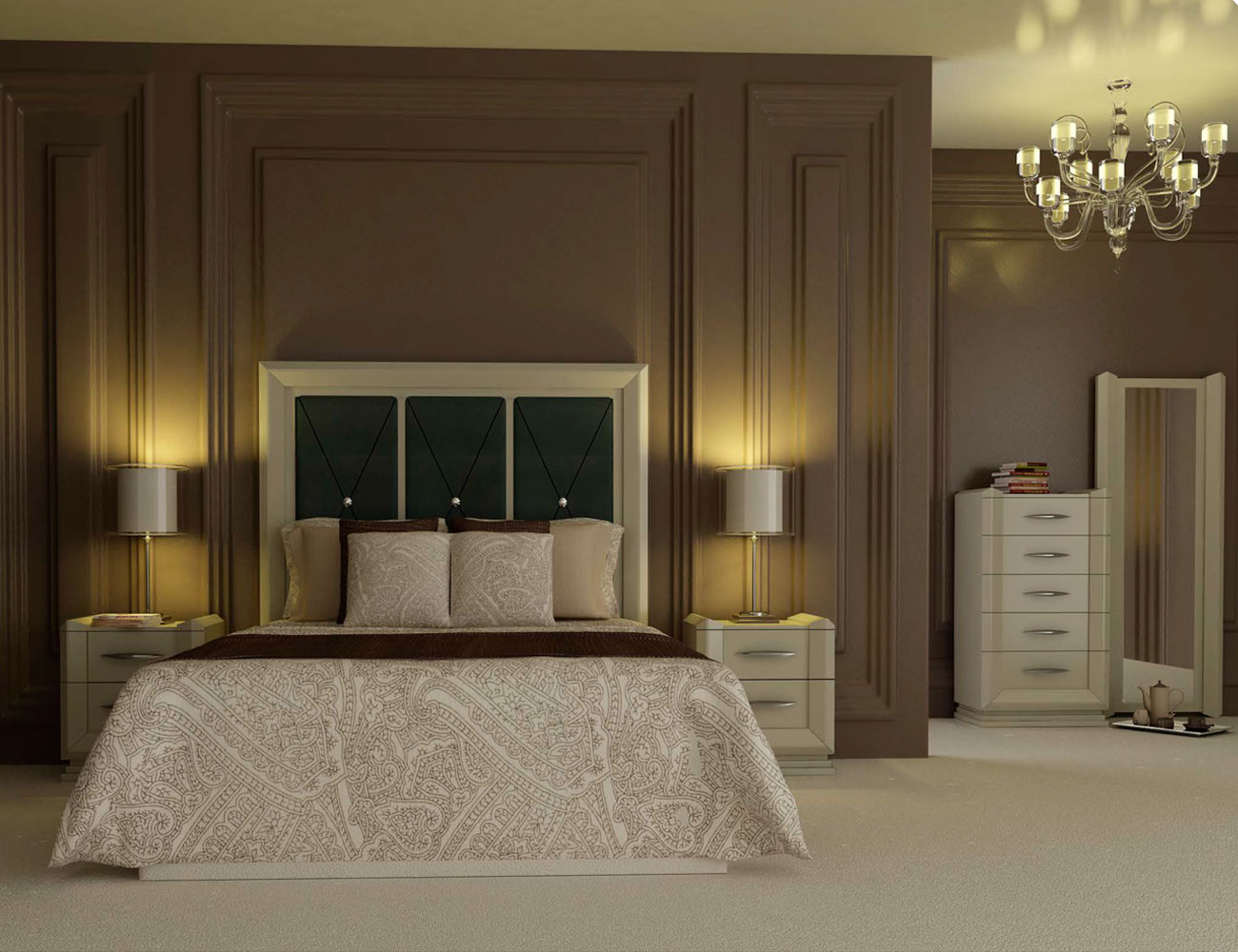 Touring 11 dormitorio matrimonio neoclasico color 200
