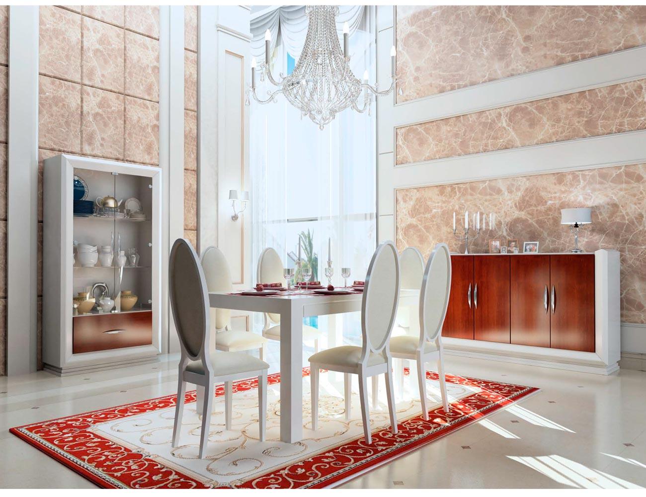 Touring 9 mueble salon comedor neoclasico color 200