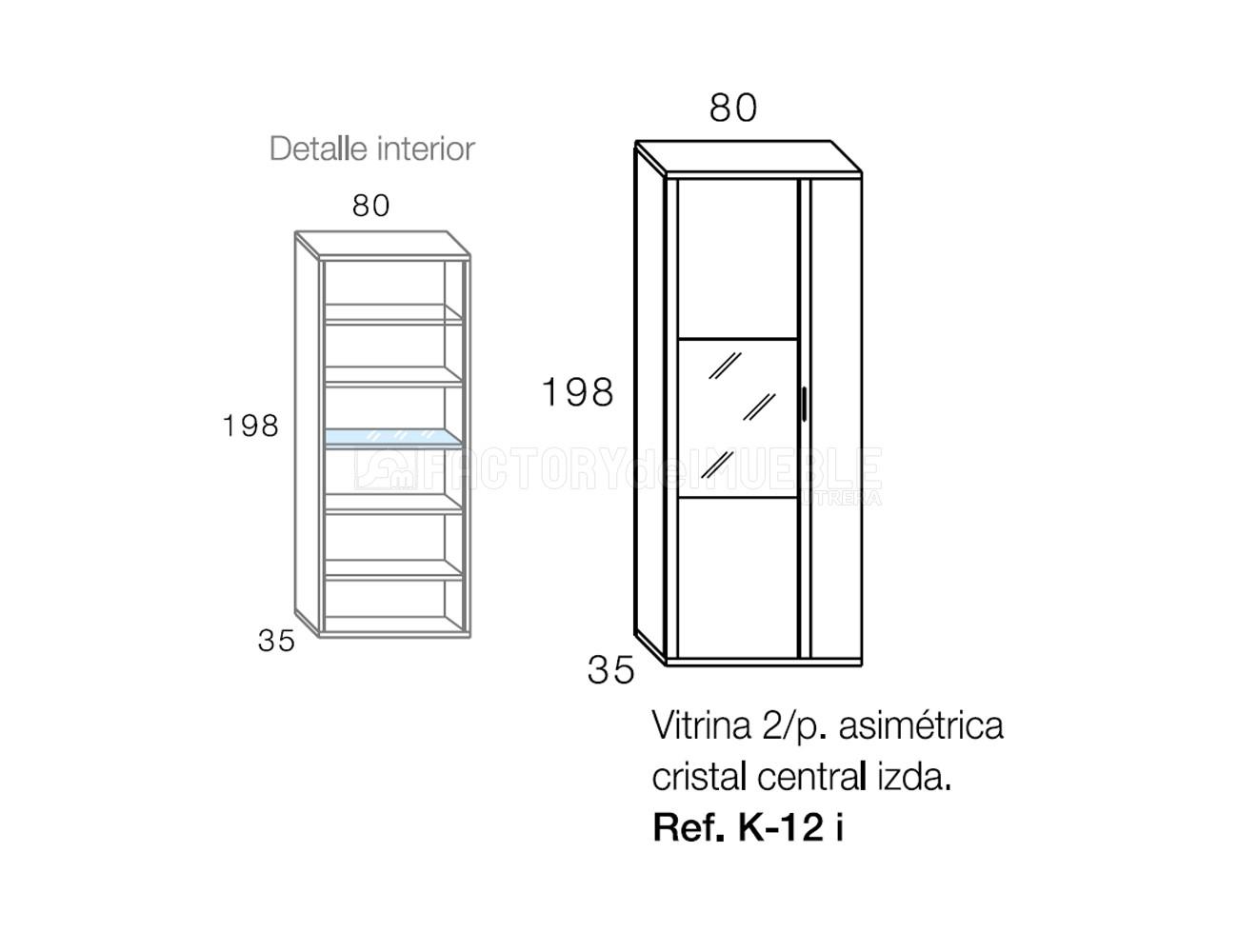 Vitrina k12i