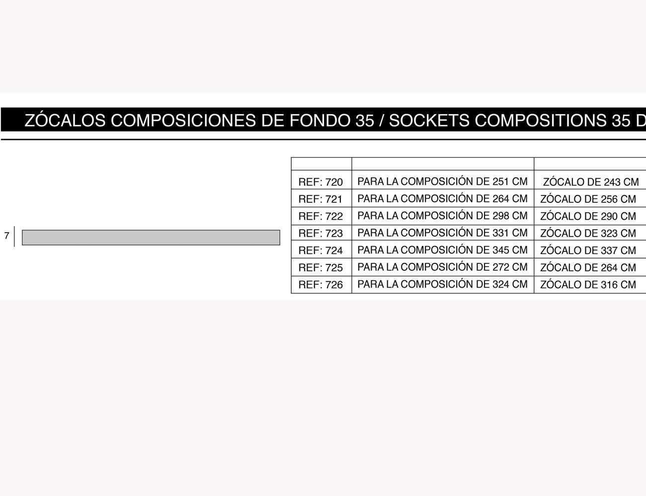 Zocalos composiciones fondo 352