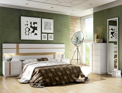 01 dormitorio matrimonio leds sinfonier moderno blanco cambrian