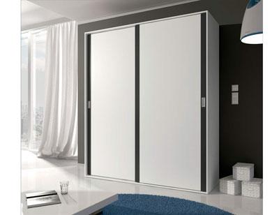 13 armario 2 puertas correderas blanco grafito1