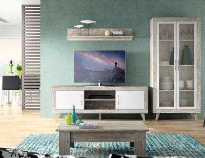 148 mueble salon comedor bajo tv mesa centro