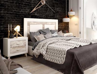 Dormitorios De Matrimonio Estilo Rustico : Dormitorios estilo rustico urbano factory del mueble utrera